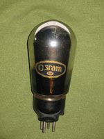 Image of early Osram PX4 balloon